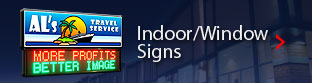 Indoor/Windoow Signs